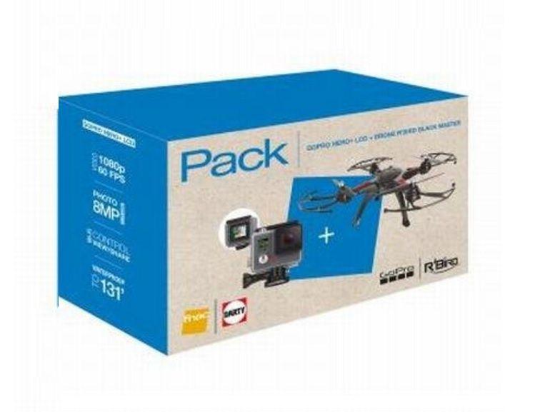 Bon plan [Jours Fnac] : GoPro Hero + Drone R'Bird + micro SD à 249€ au lieu de 501€