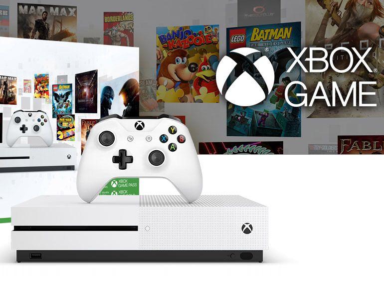 Promos Microsoft : le pack Xbox One S 1 To à 299 euros et jusqu'à 50% de réduction sur les jeux