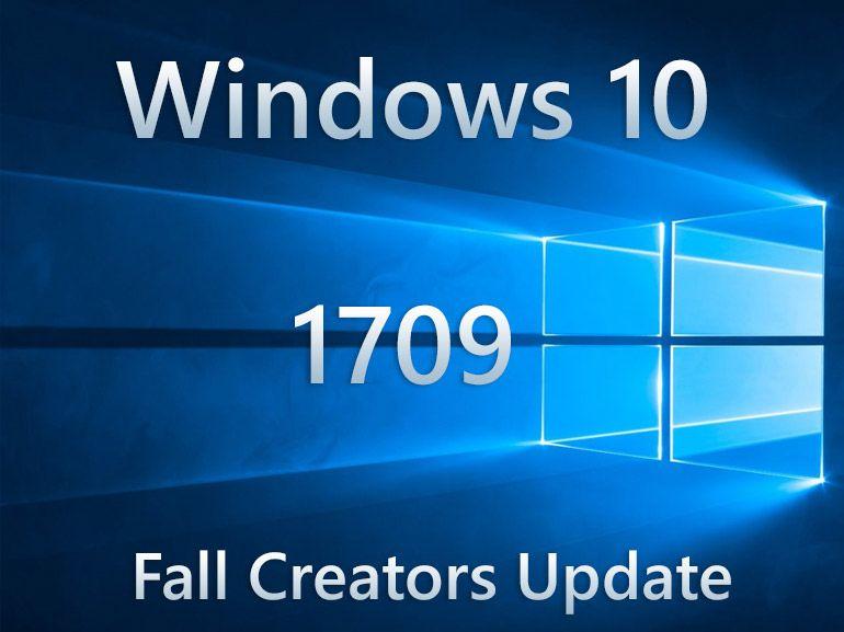 Windows 10 : Microsoft diffuse la mise à jour Fall Creators Update sur PC