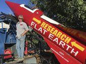 Un adepte de la théorie de la Terre plate s'envole dans sa propre fusée