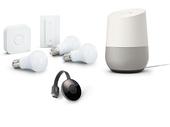 Bon plan: le pack Google Home avec Chromecast et 3 ampoules Philips HUE est à 199€ au lieu de 287€