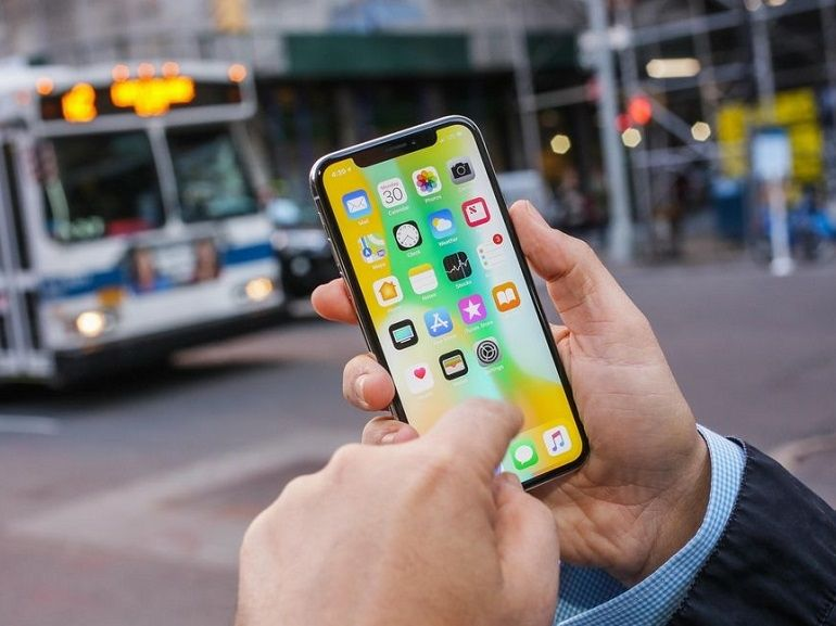 Test : Apple iPhone X