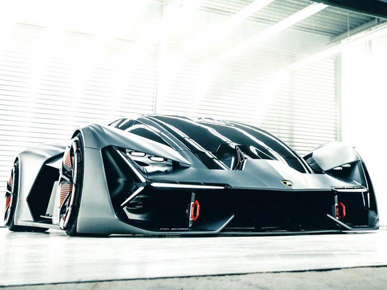 Lamborghini Terzo Milennio : la supercar du futur, électrique et sans batterie