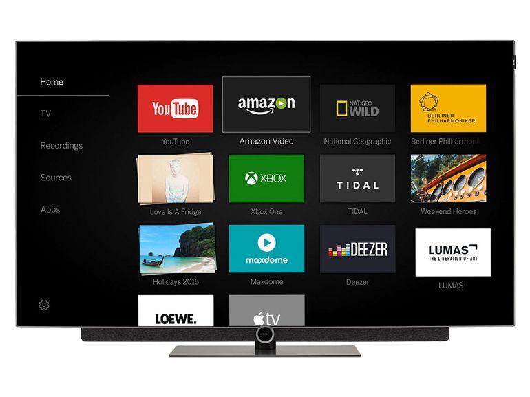Test TV Loewe Bild 3.55 Oled