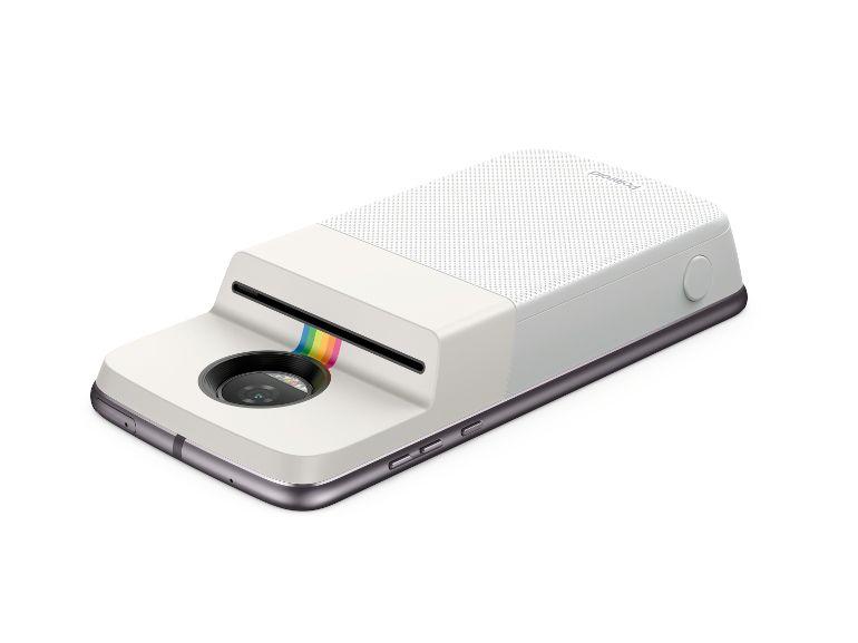 Motorola et Polaroid veulent transformer les Moto Z en imprimantes photo