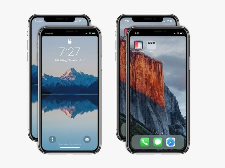 Notch Remover camoufle l'encoche de votre iPhone X