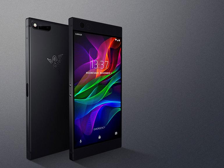 Le Razer Phone est officiel : un écran 120 Hz, 8 Go de RAM et un son stéréo THX