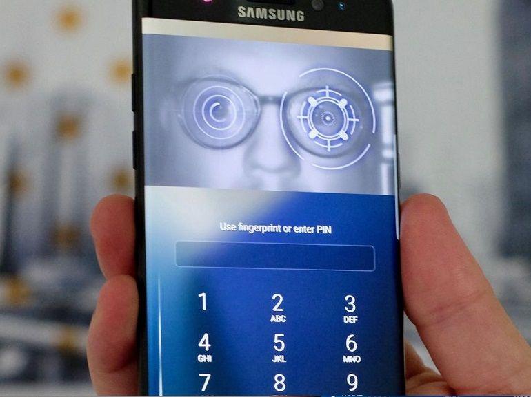 Galaxy S9 : un scanner d'iris plus sécurisé pour concurrencer le Face ID d'Apple ?