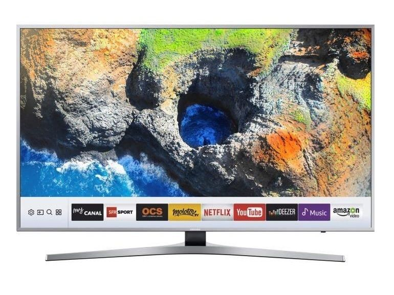 Cyber Monday : le téléviseur Samsung 4K UHD, 123 cm à 599€