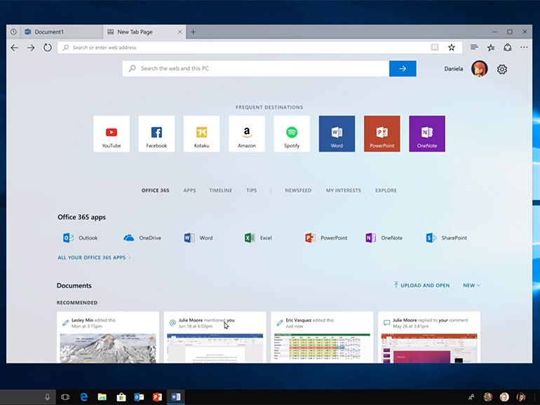 "Windows 10 : le développement de Redstone 5 commence en introduisant ""Sets"""