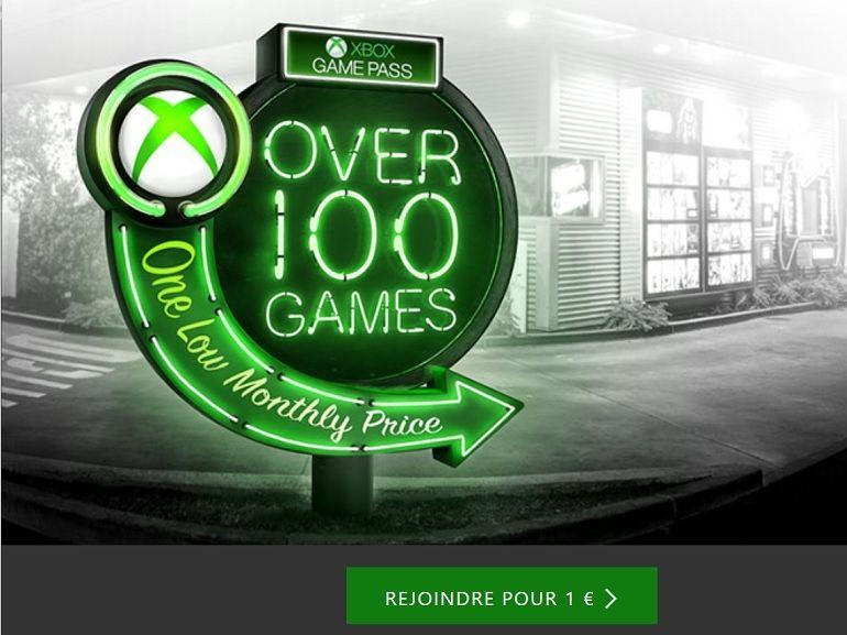 Xbox Game Pass : le premier mois d'abonnement passe à seulement 1€