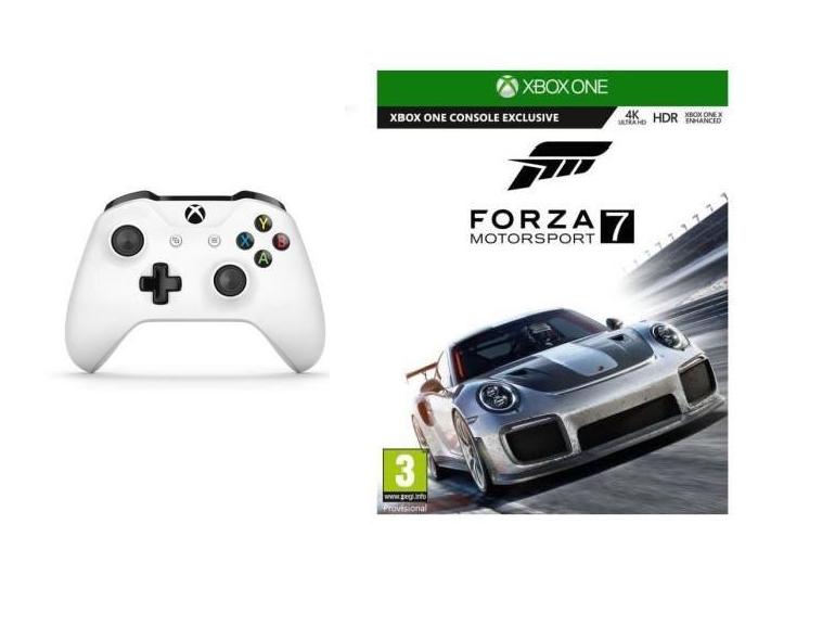 Bon plan : une manette sans fil de Xbox One + Forza Motorsport 7 à seulement 65€