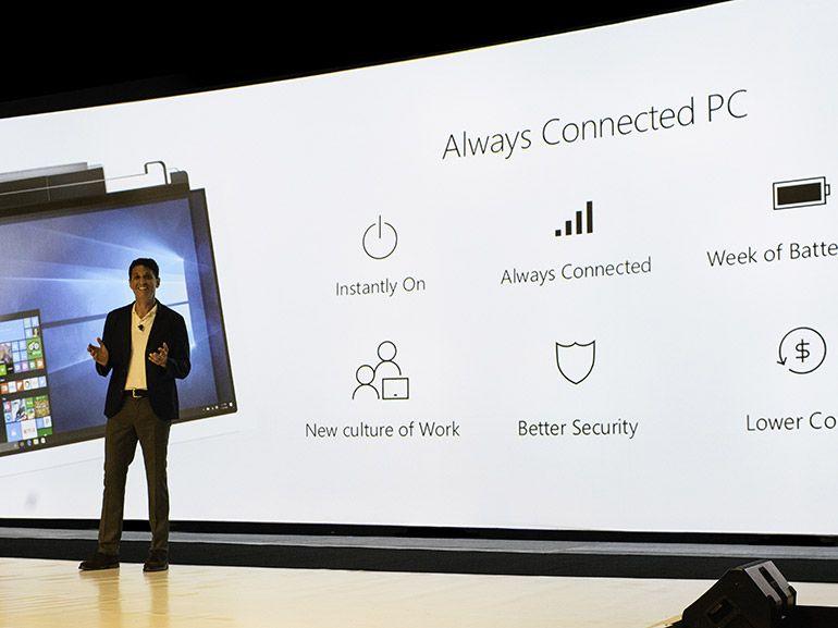 Windows 10 : des PC portables ARM/4G avec une autonomie impressionnante