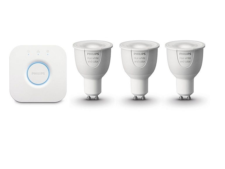 Bon plan : kit ampoules connectées Philips HUE + pont de connexion + variateur à 90€ au lieu de 140
