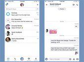 Skype sur iPhone X : une version optimisée est disponible