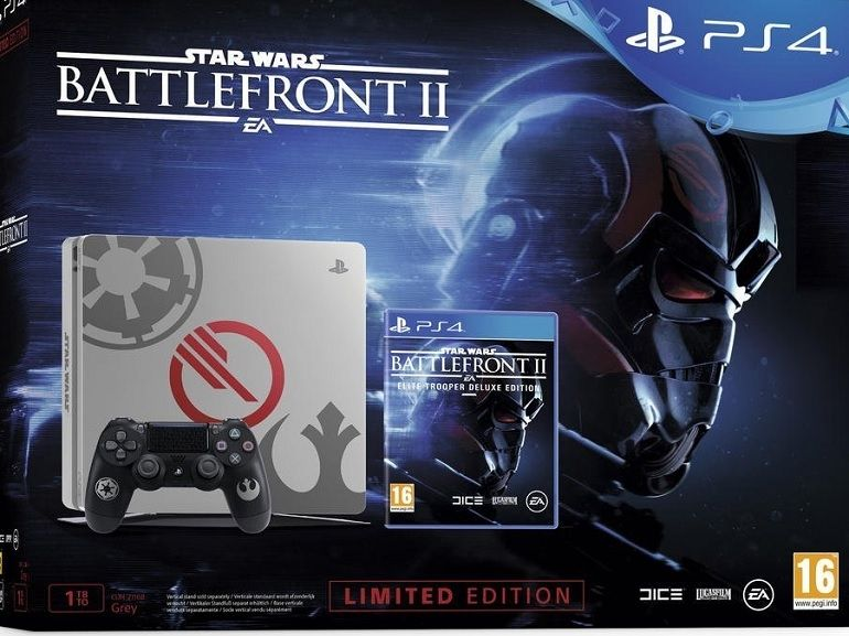 Bon plan : la PS4 Slim, 1To + Star Wars Battlefront 2 (Deluxe Edition) à 275€ sur Amazon
