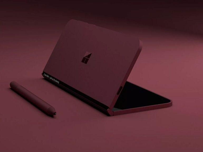 """Un brevet pointe vers un Surface Phone """"pliable"""" chez Microsoft"""