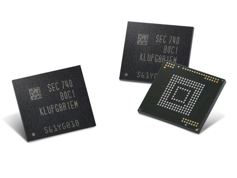 Samsung lance la production de puces de stockage de 512 Go à destination des Smartphones