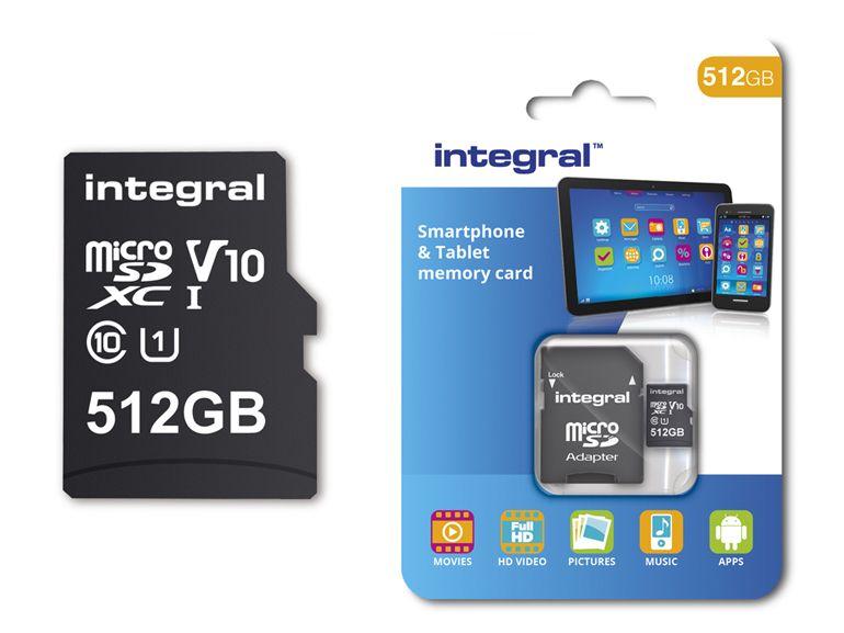 MicroSD : la première carte de 512Go sortira en février 2018