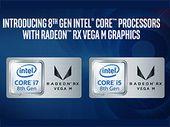 CES 2018 : Intel présente les nouveaux processeurs Kaby Lake-G conçus avec AMD