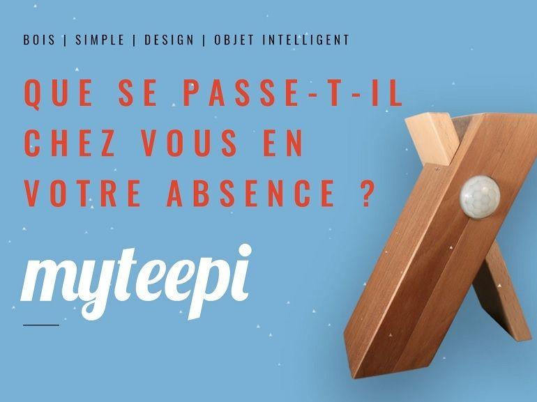 CES 2018 : myteepi, l'objet connecté qui veille sur votre domicile sans connexion Wifi