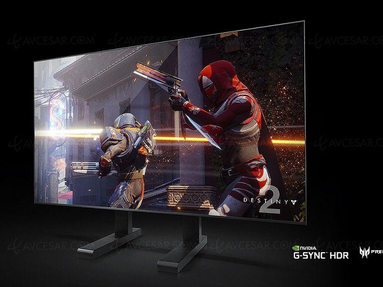 CES 2018 : Nvidia BFGD, une gamme d'écrans gaming de 65 pouces compatibles G-Sync