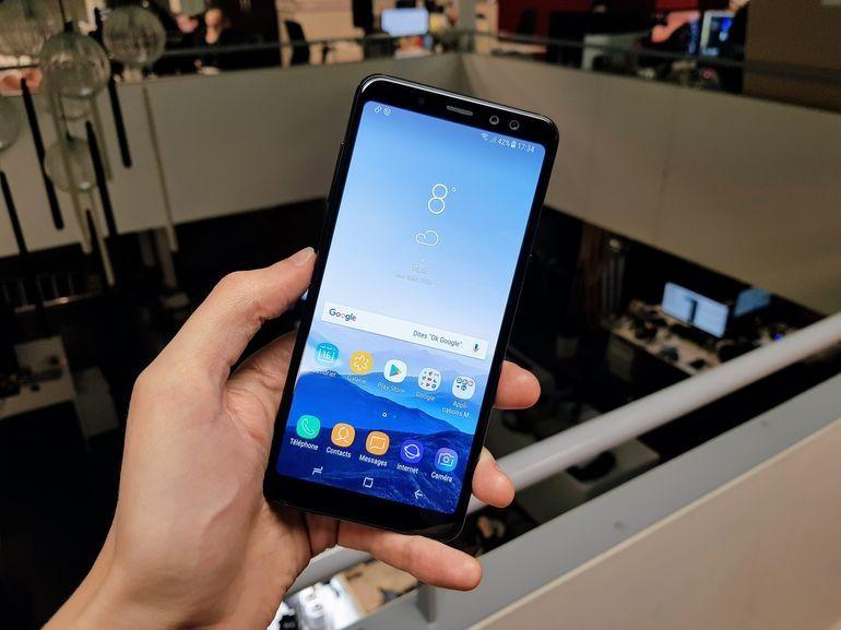 Test : Samsung Galaxy A8 : le (digne ?) fils de son père
