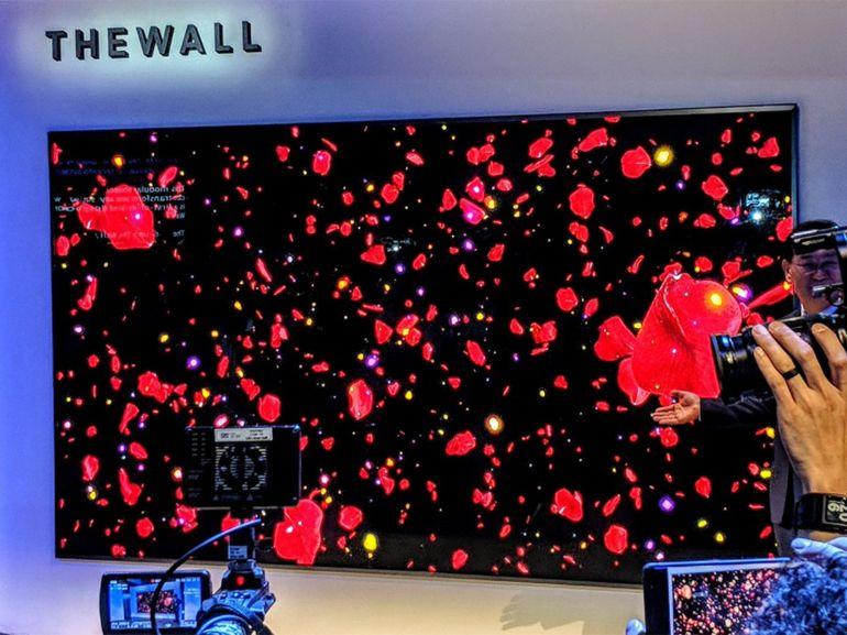 CES 2018 : Samsung présente The Wall, un TV MicroLED modulaire de 146 pouces
