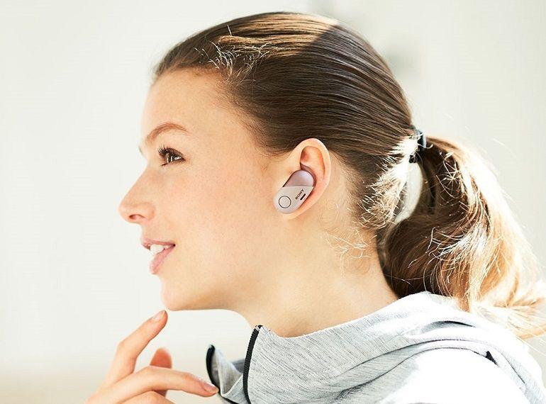 """CES 2018 : WF-SP700N, des écouteurs """"true wireless"""" à réduction de bruit chez Sony"""