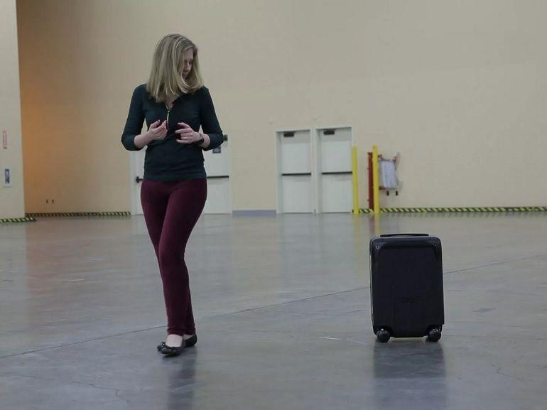 CES 2018 : ForwardX CX-1, la valise autonome qui vous suit à la trace