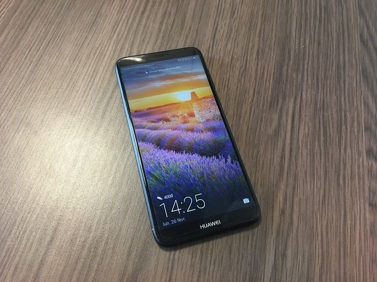 Test - Huawei P Smart : simple, basique, mais 18 : 9