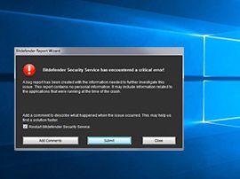 Bitdefender : solution à l'erreur du service vsserv.exe qui bloquait les utilisateurs