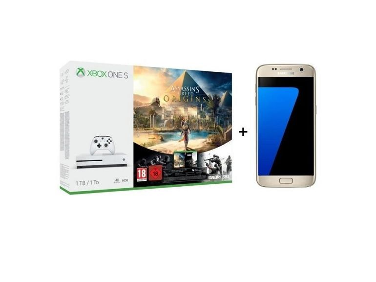 Bon plan : Samsung Galaxy S7 + Xbox One S + Assassin's Creed à 429€