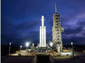 SpaceX: baptême de l'air pour l'énorme fusée Falcon Heavy ce mardi