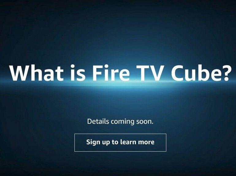 Amazon : bientôt un Fire TV Cube