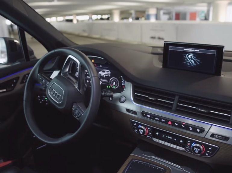 Volkswagen teste un parking entièrement autonome