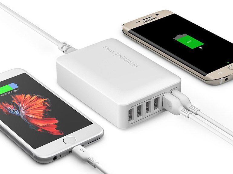 Bon plan : une station de charge 6 ports USB Quick Charge 3.0 à 17€