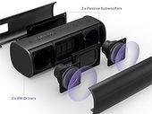 Bon plan : une enceinte portable Bluetooth 2x8W et Subwoofers Passifs à 39€