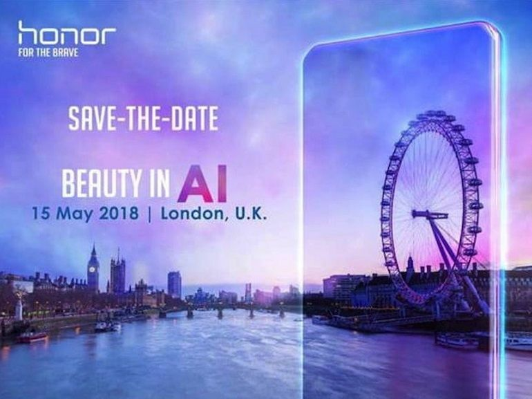 Honor dévoilera un nouveau smartphone le 15 mai prochain à Londres