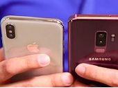 iPhone X vs Galaxy S9 Plus : comparatif détaillé de l'appareil photo
