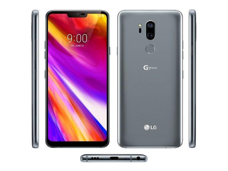 LG G7 ThinQ : image et caractéristiques en fuite