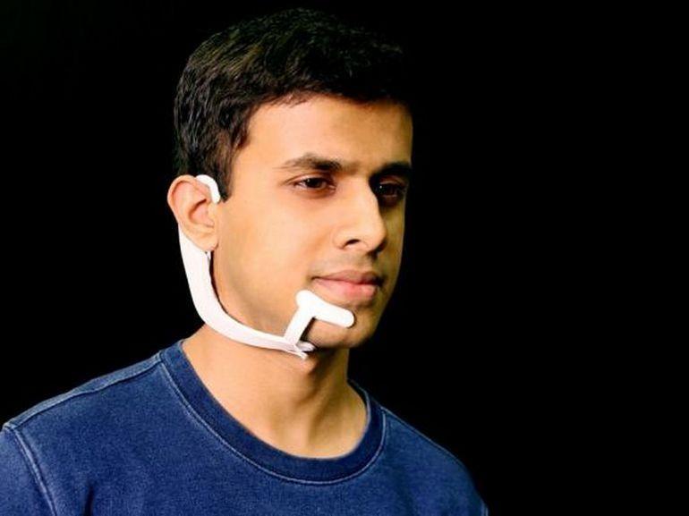 Le casque AlterEgo du MIT peut interpréter les mots que vous prononcez dans votre tête