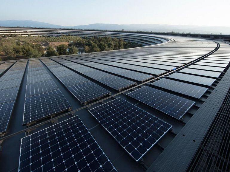 Apple et les énergies renouvelables : la pomme est bien verte