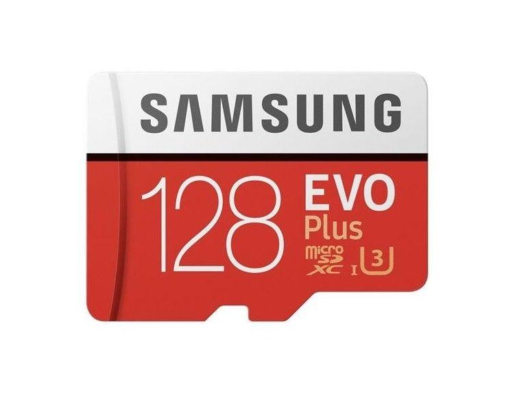 Bon plan : carte mémoire microSD Samsung 128 Go à 36€