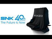 SNK : une console rétro pour (re)découvrir les classiques de la Neo Geo