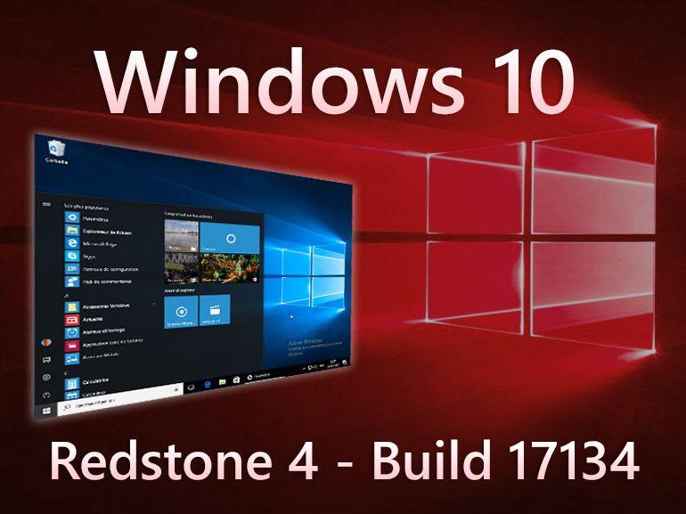 Windows 10 build 17134 : la mise à jour d'avril en test sur tous les canaux