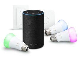 Bon plan : le pack Amazon Echo avec 3 ampoules Philips HUE à 180€