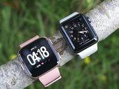 Fitbit Versa vs Apple Watch : laquelle choisir ?