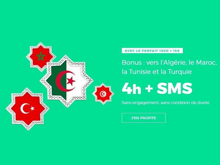 "Dernier jour : le forfait ""International"" RED By SFR 15 Go + Maghreb à 15 euros prendra fin ce lundi"