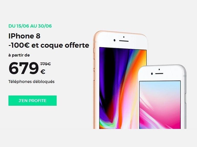 SFR RED : 30Go à 10€ et 100€ de réduction sur les iPhone avec une coque en cadeau